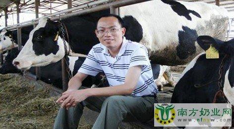 广州华美奶牛场刘辉放的养牛经