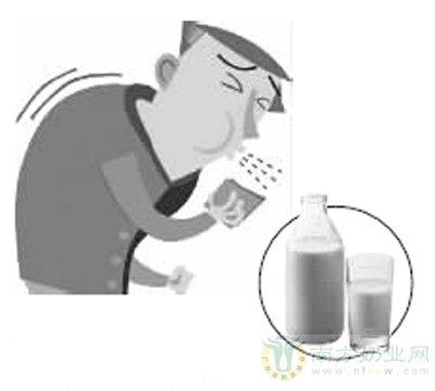 咳得厉害喝点温牛奶以缓解症状