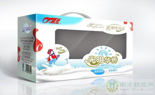 晨光牛奶包装设计